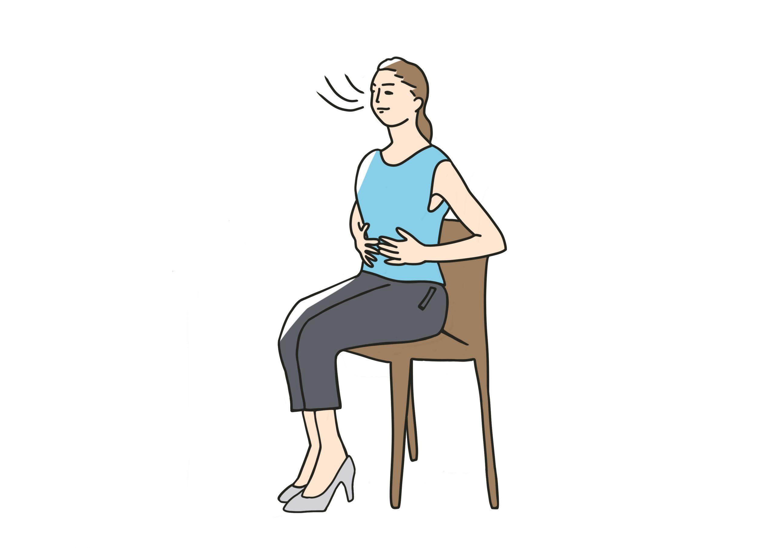 リハビリ運動が効率的にできる呼吸法「腹式呼吸」の話